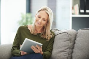 Woman with Tablet 300x200 - Specials
